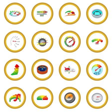 Meter icon circle