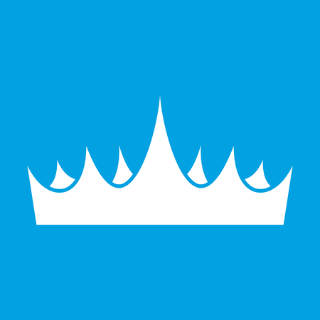 Crown white icon