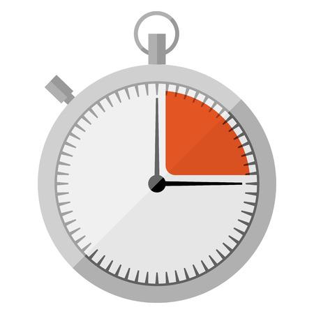 Stopwatch flat icon