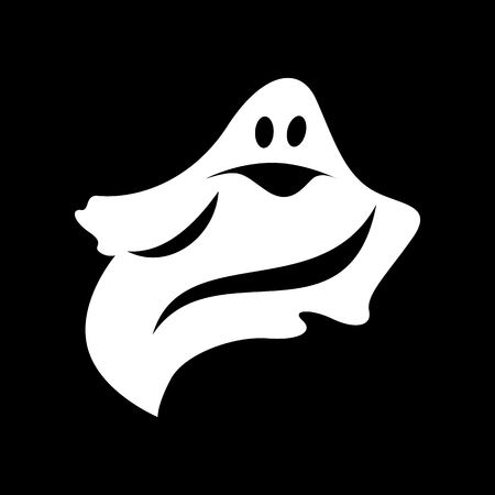 Ghost simple icon Stock fotó