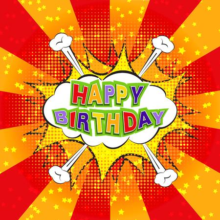 Happy Birthday comics