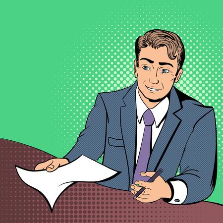 Lawyer comics concept