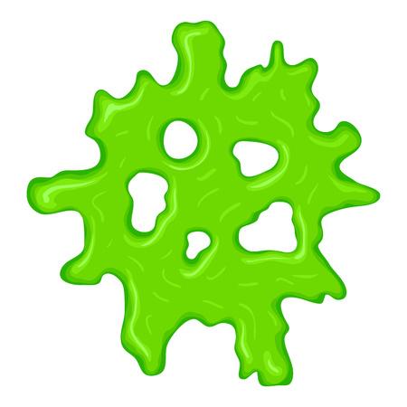 New green slime sign Reklamní fotografie