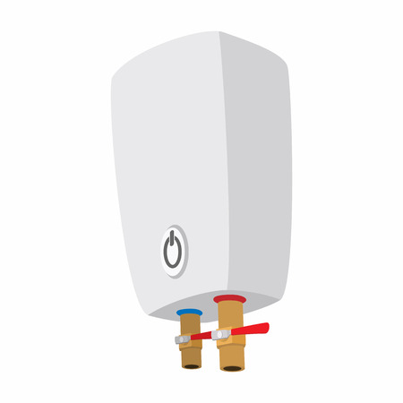 Boiler cartoon icon