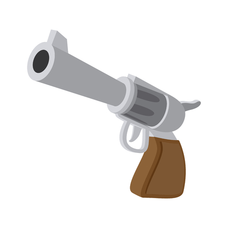Gun cartoon icon