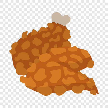 Chicken legs in cartoon style Reklamní fotografie