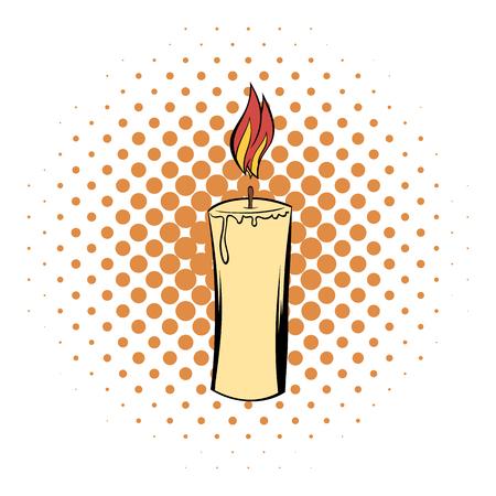 Candle comics icon