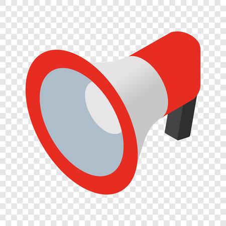 Loudspeaker isometric 3d icon 版權商用圖片