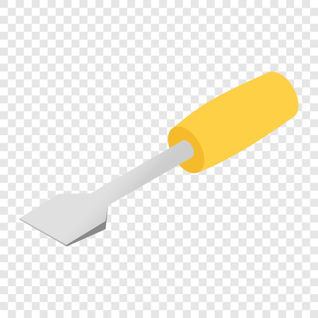 Screwdriver color isometric 3d icon