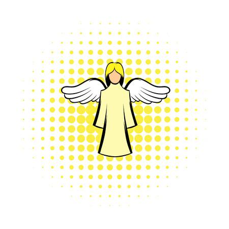 Saint angel comics icon Archivio Fotografico - 107553211