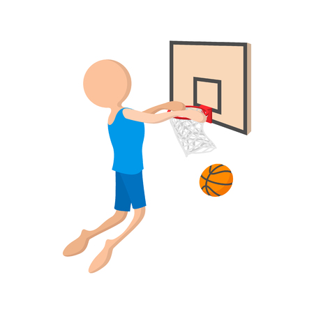 Basketball cartoon icon
