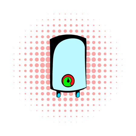 Boiler comics icon isolated on a white background