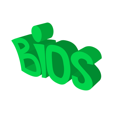 BIOS servise icon,cartoon style