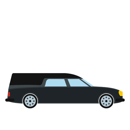 Hearse car icon