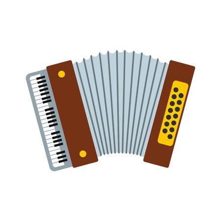 Retro accordion icon Stok Fotoğraf - 107741526