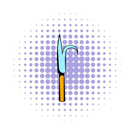 Scrap icon, comics style Banco de Imagens