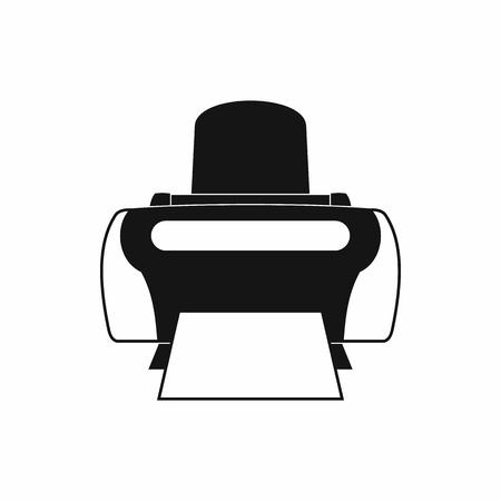 Photo printer icon, simple style 版權商用圖片