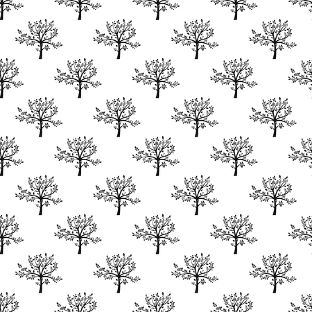 Tree pattern seamless best for any design
