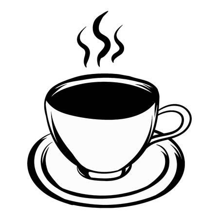 Cup of hot drink icon cartoon Фото со стока