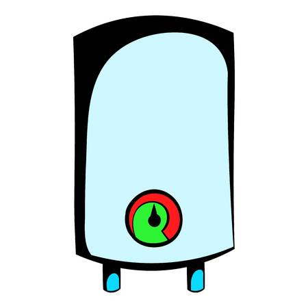 Boiler icon cartoon