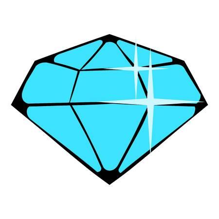 Crystal icon, icon cartoon Banco de Imagens