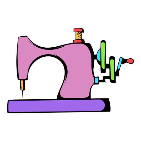 Sewing machine icon, icon cartoon Zdjęcie Seryjne