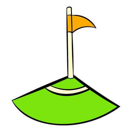 Corner icon, icon cartoon