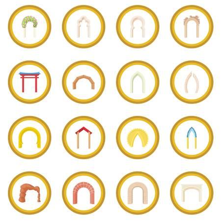 Arch icon circle