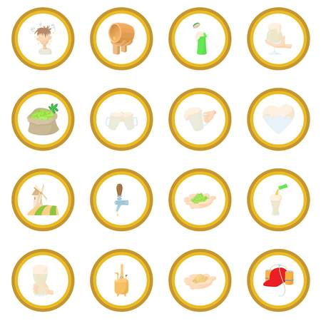 Beer icon circle