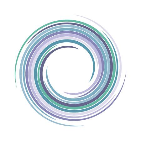 varicoloured: Vector background of bright varicoloured swirling water texture vortex