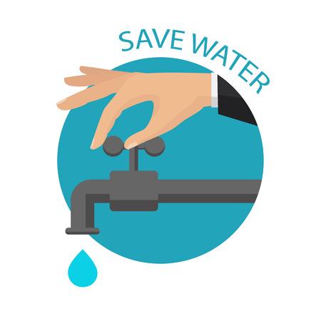 Salva l'icona dell'acqua