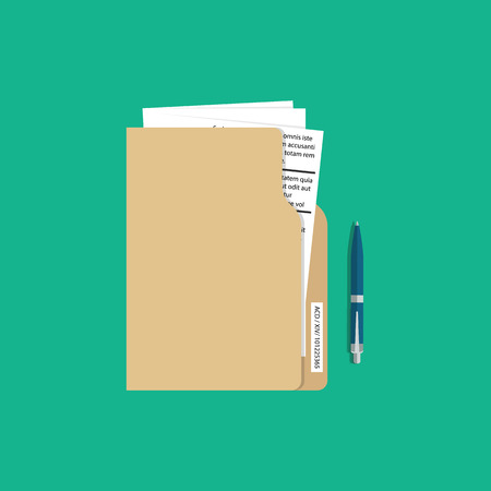 Contract terms and conditions icon. Business service concept. Vector illustration Vecteurs