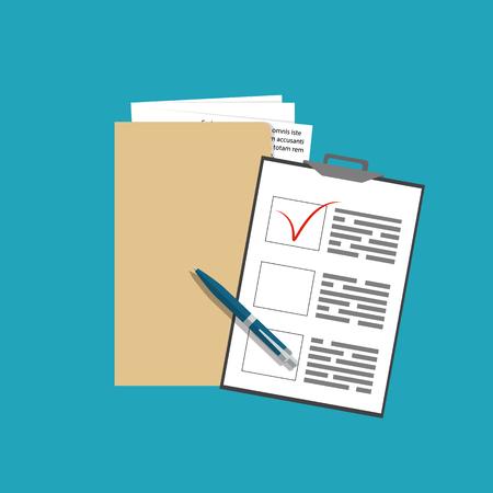 Icône des termes et conditions du contrat. Concept de service aux entreprises. Illustration vectorielle