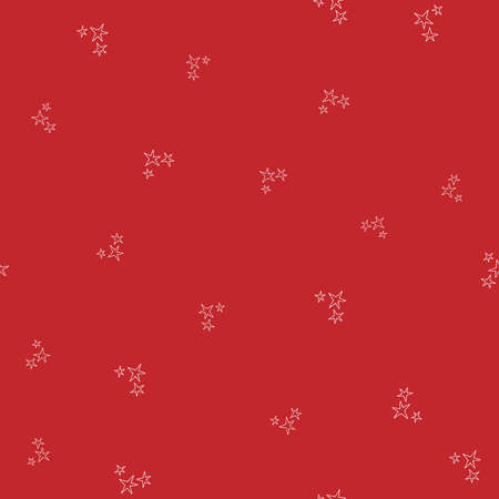 Red winter pattern in modern style. Simple design, graphic element. Floral vector Xmas celebration Vectores