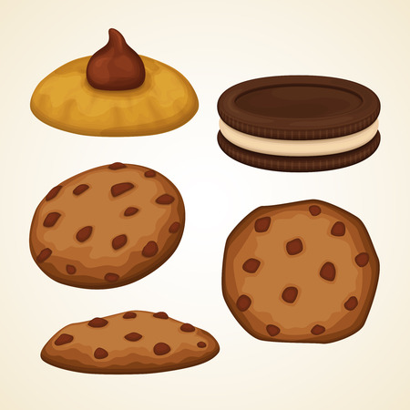Vector cookies collection