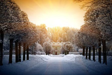 palacio ruso: Callej�n al italiano en casa Kuskovo, Mosc�