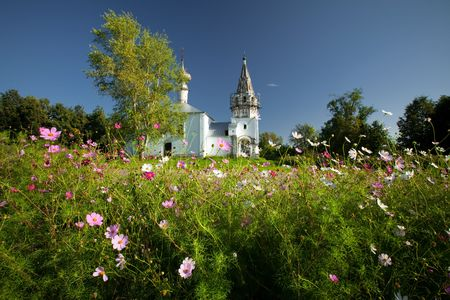 Monastery church in Suzdal. Russian Federation photo