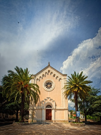 ST. JEROME CHURCH in Herceg Novi, Montenegro photo