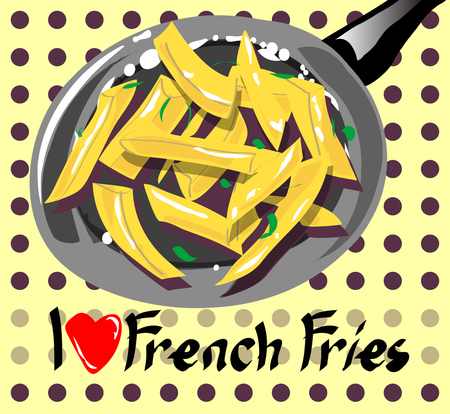 I like french fries banner