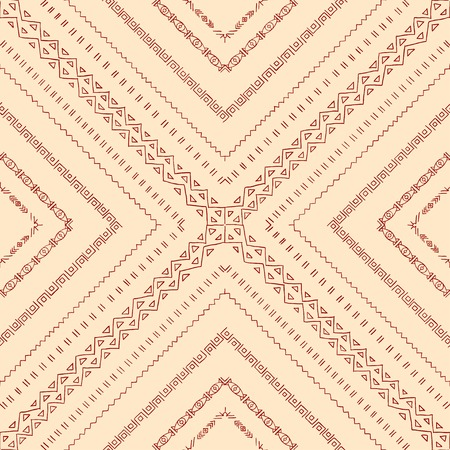 Repeating geometric tiles of rhombuses. Vector seamless pattern. Vector