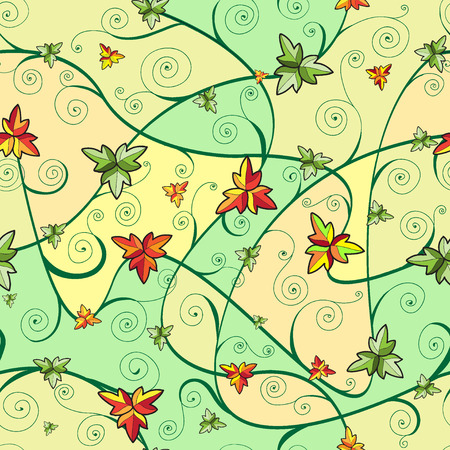 Seamless pattern with clover leaves for st.Patricks Day. Vector
