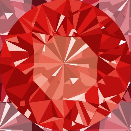 ruby stone: Gem seamless pattern. Ruby seamless pattern background.