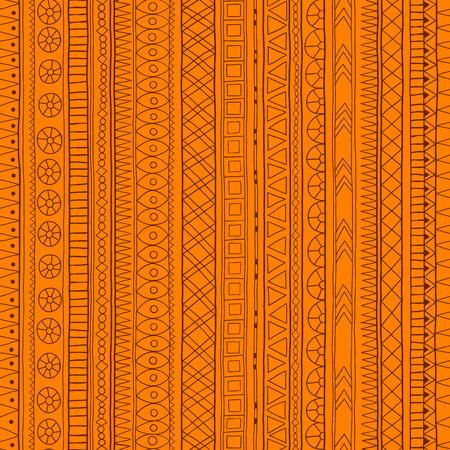 doddle: Original tribal doddle ethnic pattern. Illustration
