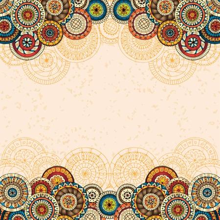 Vector floral fond décoratif. Banque d'images - 33298483