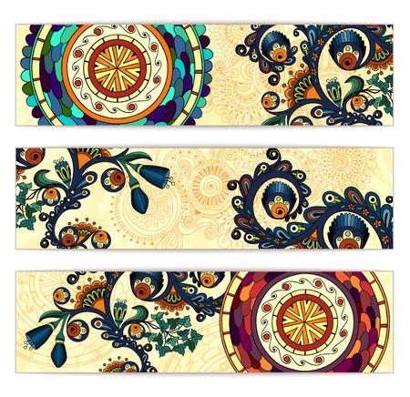 batik: Paisley ethniques batik milieux. Illustration