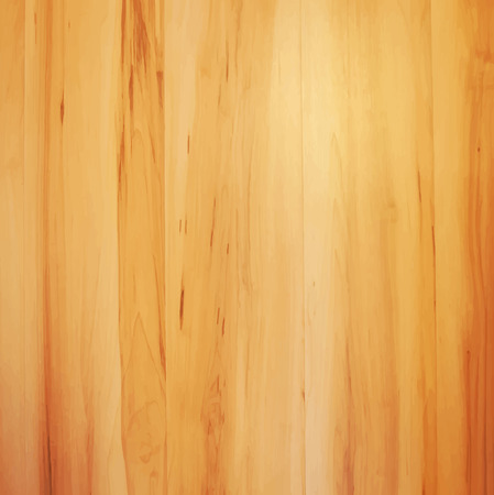 Wooden striped fiber textured background. Abstract decorative realistic natural wood texture. Vector background for your design.