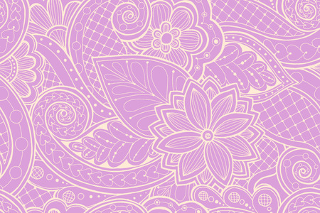 fillings: Seamless pattern with flowers and butterfly. Ornate seamless texture, pattern with abstract flowers. Floral pattern can be used for wallpaper, pattern fills, web page background.