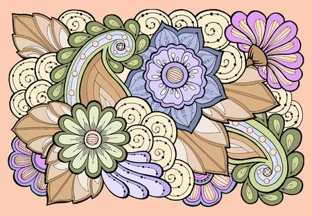 vintage patterns: Template for vintage card with detailed hand drawn  inspired flowers. Save the date cards, wedding invitation flowers and decorative elements. Floral invites, boho style.