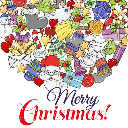 Merry christmas set of xmas colorful pattern and text templates merry christmas set of xmas colorful pattern and text templates ideal for holiday greeting cards m4hsunfo