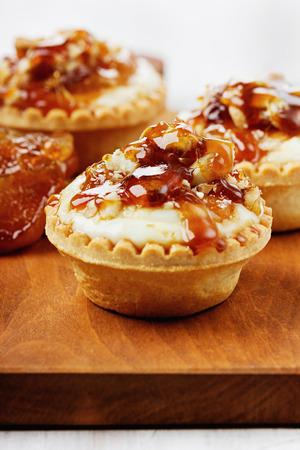 custard apple fruit: Tartlets